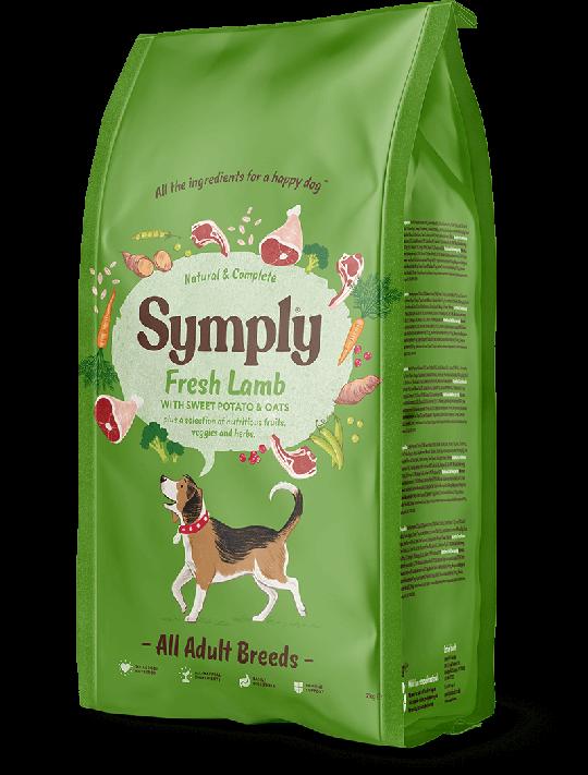 Symply lamb dry dog