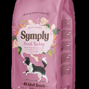 Symply dry dog turkey