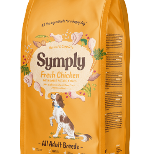 Symply dry chicken