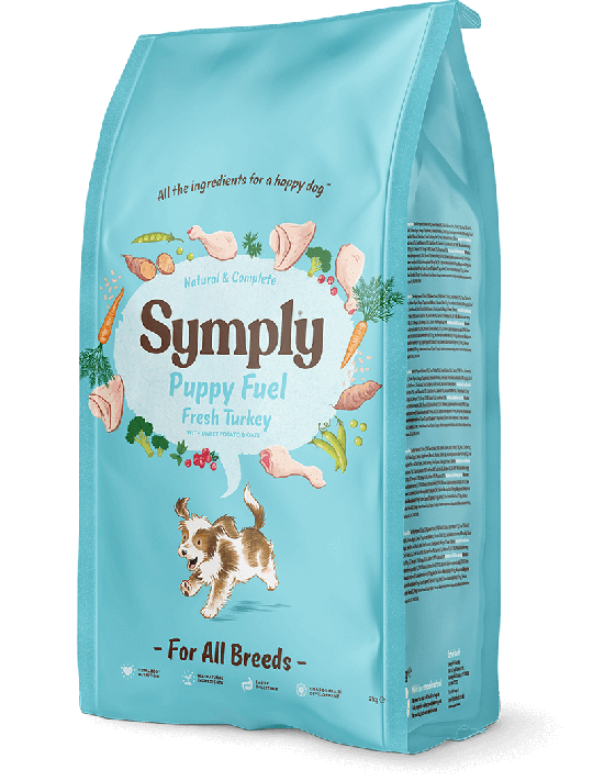 Symply dry puppy