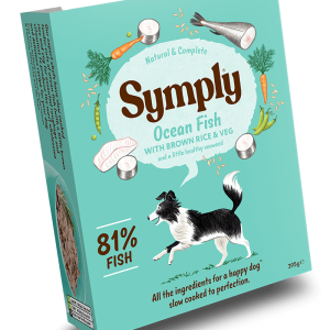 Symply Ocean Fish Dog Wet