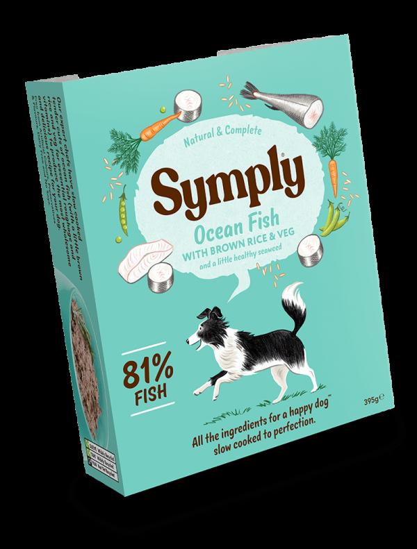 Symply Ocean Fish Dog Wet