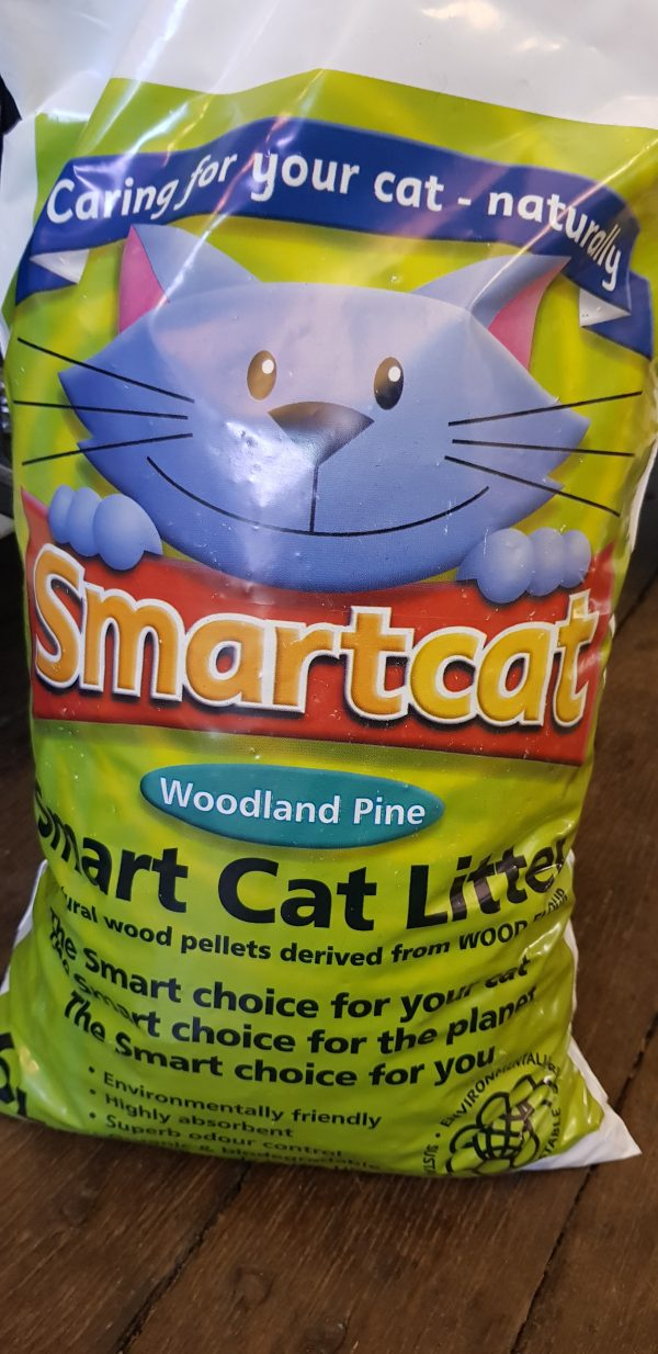 Smart cat litter