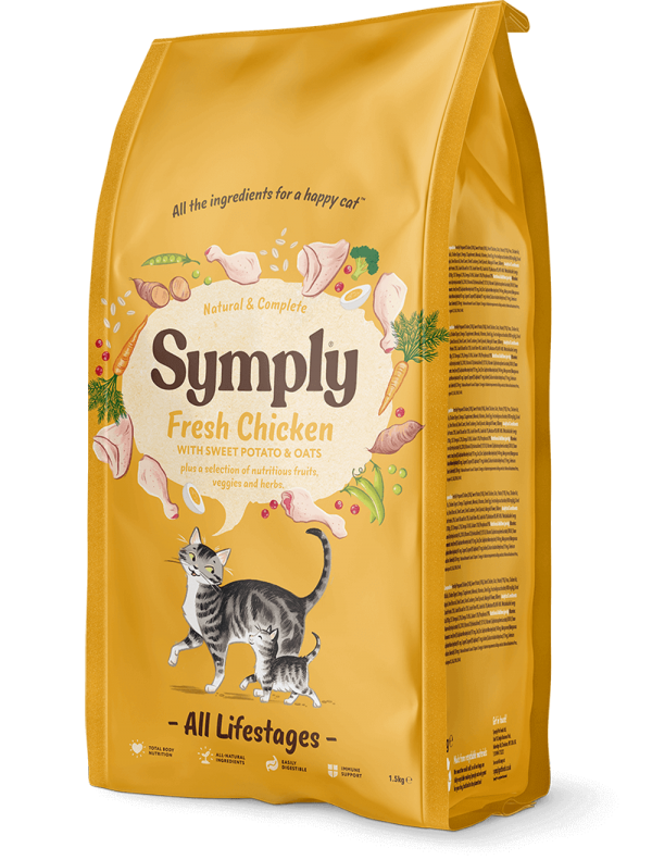 Symply Chicken Cat